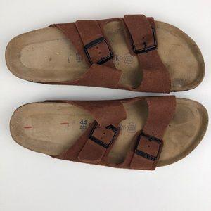 Birkenstock Arizona Suede Leather Soft Footbed